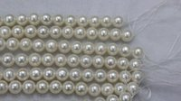 Wholesale 6mm Round Freshwater Pearl Bead - Loose Beads 5.5-6mm length 40cm white cultured round freshwater pearl loose beads fashion DIY jewelry AAAA grade