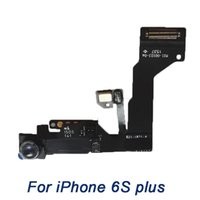Wholesale front camera for iPhone S plus grade A Light Proximity Sensor Flex Cable with samll Camera