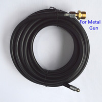Wholesale Water Pressure Hose - Wholesale-Compatible 10m x 155bar Sewer Drain Water Cleaning Hose for Metal Gun of High Pressure Washer