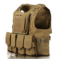 Wholesale new tactical vest for sale - New arrival RU Army vest Jacket Amphibious tactical vest CS Outdoor camping Multipurpose camouflage vest Men women High quality Jackets