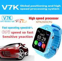 V7K wasserdichte Kinder GPS intelligente Uhr Kinder Safe Anti-Lost Monitor Uhren mit Kamera / facebook whatsapp Location Device Tracker