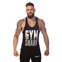 Wholesale Sexy Brown Bear - Wholesale- Golds Stringer Tank Top Men Bodybuilding 2016 Clothing Fitness Mens Shirt Vests Cotton Singlets Muscle Tops WAIBO BEAR