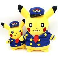 Wholesale Anime Material - Pikachu Short Plush Toy Child Gift Pillow Girlfriend Child Birthday Gift wedding Safe and environmentally friendly materials