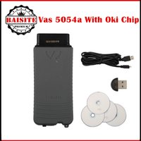 Wholesale Vw Engine Code - 2016 Best Selling vas 5054A ODIS v3.0.3 Bluetooth Support UDS Protocol VAS5054A Full Chip OKI VAS 5054 oki Diagnostic tool free shipping