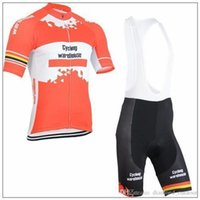 Wholesale Lotto Jersey - NEW ITEMS cycling warehouse jersey Lotto style team jersey cycling wear short bib none bib suit canari cycling jerseys