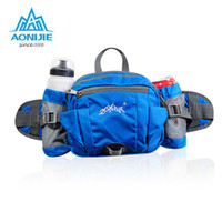 Wholesale Outdoor Bicycle Storage - Wholesale- AONIJIE Multifunction Nylon Sport Phone Waist Bags Outdoor Running Hiking Cycling Bicycle Big Storage Money Pouch Fanny Packs