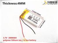 ionensprecher für großhandel-1pcs [SD] 3.7V 380mAH 402040 Polymerlithiumionen- / Li-Ionbatterie für SPIELZEUG, STROMBANK, GPS, mp3, mp4, Handy, Lautsprecher