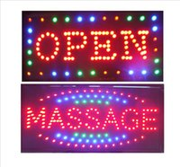 Wholesale Indoor Signs - 2 Led Signs super brightly customized led light sign led Massage sign neon Massage sign indoor