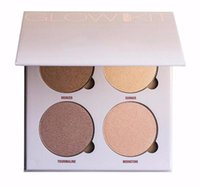 Wholesale THE Glow Gleam Powder Palette Glow Kit Metallic Powder Bronzers Highlighters Glow Face Makeup Good Quality