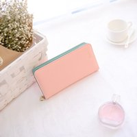 Wholesale Korean Bags For Sale - 2017 new ladies wallet Korean zipper large capacity multi-card long wallet women's handbags a variety of colors for sale