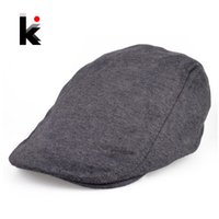 Wholesale Sub Hat - Wholesale-Free Shipping 2016 new fashion leisure solid color cap baseball cap sub-light board hat for women and men beret 3 colors