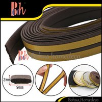Wholesale Hot x M M Self Adhesive I Type EPDM Rubber Foam Sealing Strip Doors Windows Seal Pipe Draught Anti Collision Sound Insulation Windproof