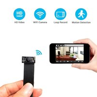 Wholesale Cmos Camera Lens Module - HD 1080P WiFi Hidden Camera Nanny Cam Mini DV DIY Module P2P DVR 60cm Lens IP Video Recorder For Security Support APP Real-time Monitoring