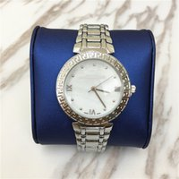 Wholesale Ladies Quart Watches - Hot sale Famous Brand Women Wristwatch steel Strap Lady Quart Dress watch High Quality Female Clock Jewelry buckle Popular Free shipping