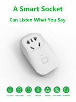 Wholesale Voice control WiFi Remote Smart House Socket for Android iOS Cell Phones Tablets hole EU US AU UK PLUG Wifi Smart Socket