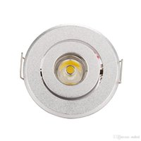 Wholesale touch switch led cabinet lights - home store decor hot sale mini Led spot light Downlights cabinet lights 1W 3W Hole size 40-45mm 110-270LM AC85-277V down light