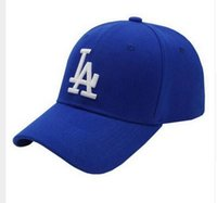 Wholesale 2017 Hot Sell Baseball Caps LA Dodgers Embroidery cap hat Hip Hop Sports Snapback hats for Men Women Fitted Hat Gorras Casquette
