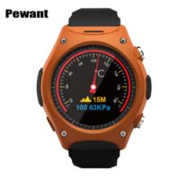 Ultimo MTK2502C Smart Watch frequenza cardiaca Barometri Altitude Sport Outdoor orologio da polso Smartwatch Smart Electronics PK IWO 2