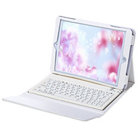 Wholesale Ipad Charging Case - Wireless Bluetooth 3.0 Keyboard with PU Leather Case USB Charging Cable for iPad Air 2 Built-in rechargeable battery