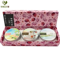 Wholesale Chinese Tea Gift Boxes - 300g Puer 3 Boxes Tuo Cha Puer Gift Box Puer Chinese Tea Puerh China Pu Erh gift Tea container Organic