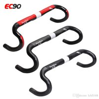 Wholesale Cycling Handle Bars - 2017 EC90 UD carbon fiber road bicycle handlebar carbon cycling bike parts road bike handlebars t handle bend bar 400 420 440mm