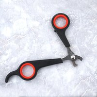 Wholesale Wholesale Dog Articles - Nail Clipper For Pet Dog Cat High Quality Clean Cosmetology Articles Non Slip Esign Scissors Save Effort Clippers 2 2fy R