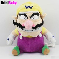 Wholesale Rare Super Mario - OHMETOY Super Mario Brother Wario Stuffed Animal Teddy Character Plush Doll Baby Toy 20cm Rare Collectible Gift for Kids