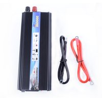 Wholesale Modified Sine - Wholesale- Modified Sine Wave 2000W Inverter Convertidor Car Vehicle USB DC 12V to AC Car 110V 120V Power Inverter Adapter Converter