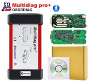 Wholesale Green Mazda - A++ Quality Single green PCB tcs cdp Multidiag pro+ 2014.3 software free Kegen with bluetooth 2015.3 software