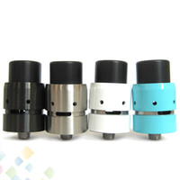 Wholesale velocity rda - Newest Mini Velocity RDA Rebuildable Dripping Atomizers Adjustable Airflow Colors PEEK Insulator Fit Thead Mechanical Mod DHL Free