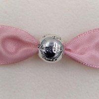 ingrosso ringraziamenti per dare regali-Happy Thanks Giving Day Regalo 925 Sterling Silver Beads Grazie Fascino Adatto europeo Pandora gioielli stile collana bracciali 791276