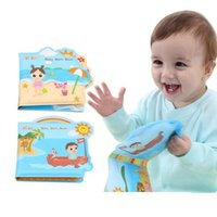 Wholesale Baby Bath Book - Wholesale- Baby Bath Toy Bath Book Waterproof Infant And Early Childhood Education Toys 6M+