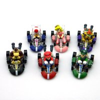 171217 New Arrival Hot Selling 6pcs Mario Super Louis Pocket Car Puxe para trás o modelo de carro Kids Toys For Boys Educational Best Christmas Gift