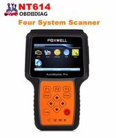 Wholesale Ford Brand Cars - FOXWELL NT614 OBD Car Escaner ABS Airbag and Transmission EPB Reset Diagnostic-tool for Multi-brand Vehicle Chearper than MD802