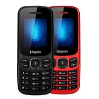 Wholesale Gsm Senior - Lingwin N1 Feature Phone 1.77 Inch 32MB+32MB SC6513E GSM Dual SIM+TF Slot CellPhone Seniors Elderly MP4 Flashlight Mobile Phone