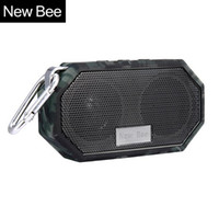 Wholesale Mp3 Bee - New Bee Waterproof Wireless Bluetooth Speaker Mini Subwoofer Shower Portable speakers Hands-free Call Mic for Phone PC