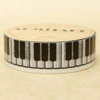 diy photo diary оптовых-Wholesale- 2016 High Quality Piano Keyboard Washi Paper Masking Tape Cartoon Washi Tapes Scrapbooking DIY Sticker Diary Deco Photo Stickers