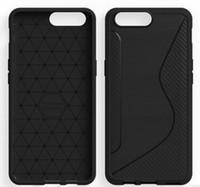 capas móveis pretas venda por atacado-Oneplus 5 tpu case new ns linha preta tpu macio voltar case capa para oneplus 5 5.5 '' casos de telefone móvel de alta qualidade