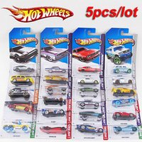 Wholesale Classic Miniature Toys - 5 pcs metal car model classic antique collectible toy cars for sale hotwheels collection hot wheels miniatures scale cars models