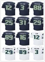 55947976f ... Mens Seattle Seahawk jersey 3 Russell Wilson 89 Doug Baldwin 88 Jimmy  Graham 31 Kam Chancellor Nike Rams 16 ...