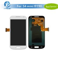 Wholesale Digitizer Galaxy Mini - AMOLED LCD For Samsung S4 mini i9195 i9190 i9192 LCD Screen Digitizer without frame With free repaire tools and Free Shipping