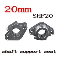 10pcs SHF20 20mm Flange Mount Linear Rail Shaft Support Linear Rod shaft Support