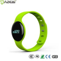 Wholesale Remote Software - Wholesale- Fashion Sports Heart rate smart bracelet H8S fitness tracker intelligent wristband software sleep management IP67 CE ROHS