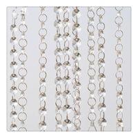 Wholesale Metal Table Feet - Acrylic Crystal Curtain 3.3 Feet Crystal Acrylic Beads Chain Garland Hanging Diamond Chandelier Wedding Supplies Party Table Decoration