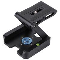 Wholesale quick release cameras online - factory direct Z Type foldable head Top quality Flexibal Z Pan Folding Desktop Quick Release Plate For camera Tripod VS ball head
