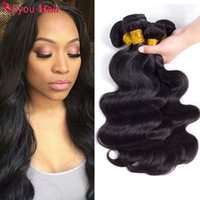 Meilleures ventes Offres quotidiennes Mink Brésilien Body Wave Virgin Hair Weaves Wet and Wavy Remy Cheveux Humains Bundles Ponytail Vente en gros d'extensions de cheveux