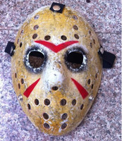 Wholesale More Type Black Friday NO Jason Voorhees Freddy hockey festival party Halloween masquerade mask adult size gram