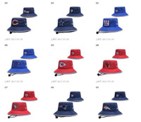 Wholesale 2017 NEW Football BUCKET HATS Authentic Team Stitched fast shipping