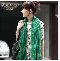 Wholesale Bali Yarn - The new Bali foreign trade solid Mianma children scarf scarf yarn candy color lady scarf