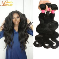 Wholesale Ali Queen - 7A Grade Brazilian Virgin Hair Body Wave 4 Bundles Ali Queen Brazilian Virgin Hair Human Hair Unprocessed Natural Color Brazilian Body Wave